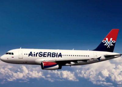 air serbia avion